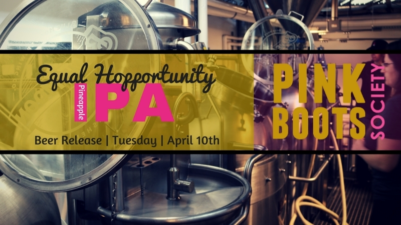 Denver's Pink Boots Society to Release Equal Hopportunity April 10